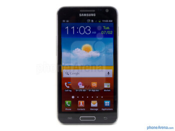 "The Samsung Galaxy S II HD LTE is outfitted with a 4.65"" HD Super AMOLED display - Samsung Galaxy S II HD LTE Review"
