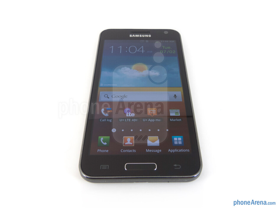 """The Samsung Galaxy S II HD LTE is outfitted with a 4.65"""" HD Super AMOLED display - Samsung Galaxy S II HD LTE Review"""