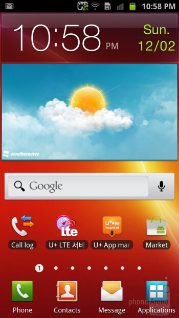 The Samsung Galaxy S II HD LTE runs the TouchWiz interface on top of Android 2.3.6 Gingerbread - Samsung Galaxy S II HD LTE Review