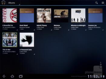 Music player - Pantech Element Review