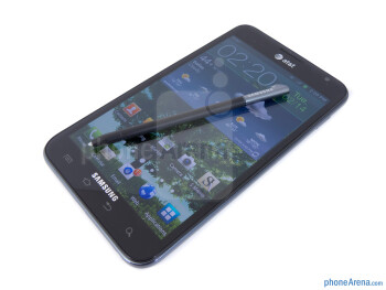 The included S Pen - Samsung Galaxy Note LTE Review
