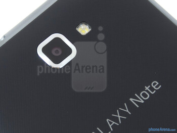 Rear camera - Samsung Galaxy Note LTE Review