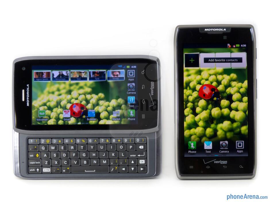 Motorola DROID 4 vs Motorola DROID RAZR MAXX