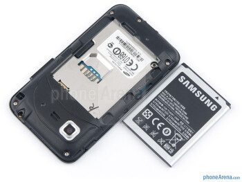 Battery compartment - Samsung Star 3 Review