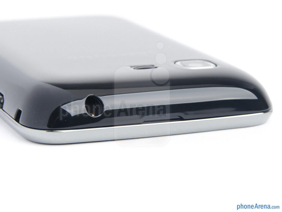 3.5mm jack (top) - The sides of the Samsung Star 3 - Samsung Star 3 Review