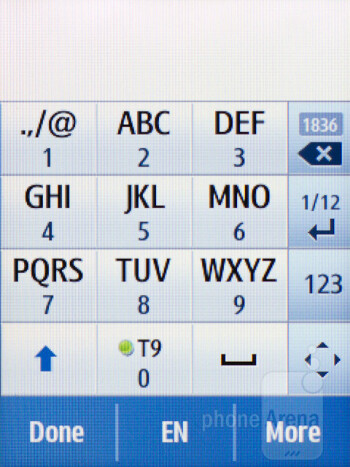 Messaging - Samsung Star 3 Review