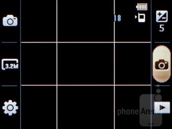 Camera interface - Samsung Star 3 Review
