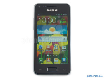 The 4-inch display - Samsung Galaxy S Advance Preview
