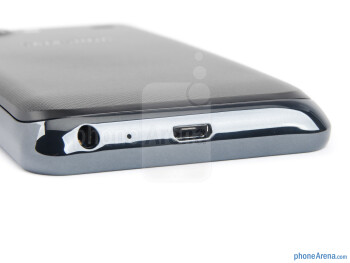 The sides of the Samsung Galaxy S Advance - Samsung Galaxy S Advance Preview