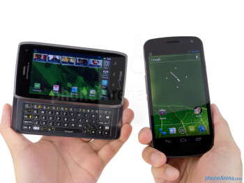 Motorola DROID 4 vs Samsung Galaxy Nexus