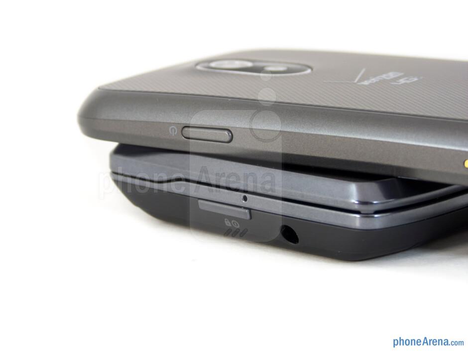 Power buttons - Motorola DROID 4 vs Samsung Galaxy Nexus