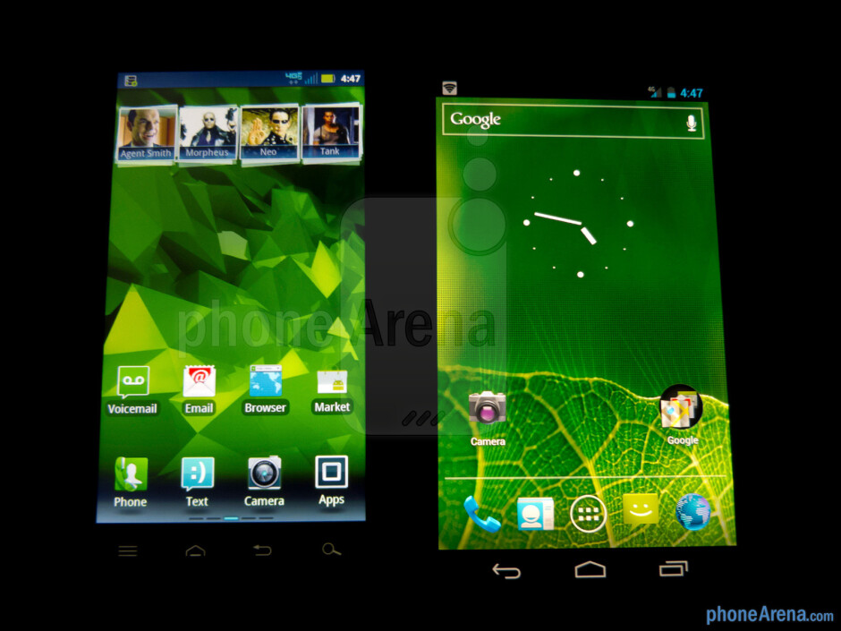 Motorola DROID 4 vs Samsung Galaxy Nexus