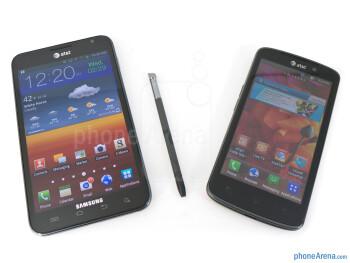 Samsung Galaxy Note LTE vs LG Nitro HD