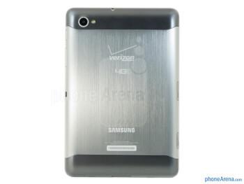 The Samsung Galaxy Tab 7.7 LTE has a stylish metallic body - Samsung Galaxy Tab 7.7 LTE Review