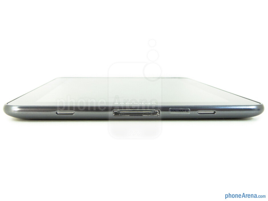 The dock connector is on the bottom - Samsung Galaxy Tab 7.7 LTE Review