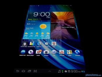 The 7.7-inch tablet sports a gorgeous Super AMOLED Plus display - Samsung Galaxy Tab 7.7 LTE Review