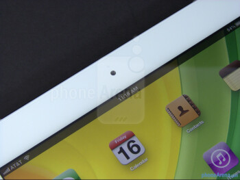 Front camera - The new iPad (3) Review