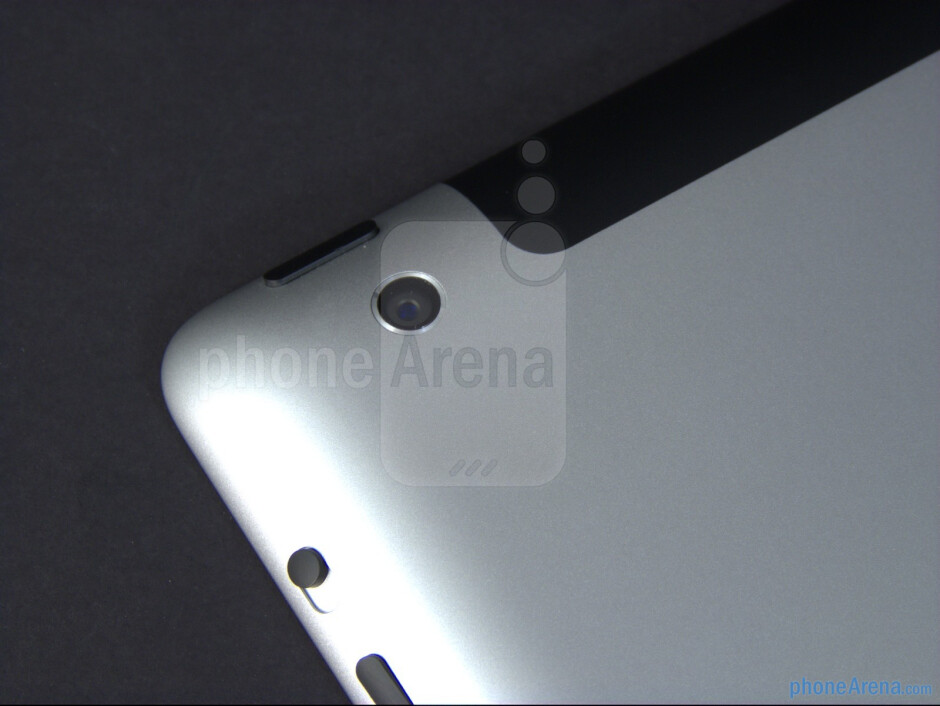 The 5-megapixel iSight camera - The new iPad (3) Review