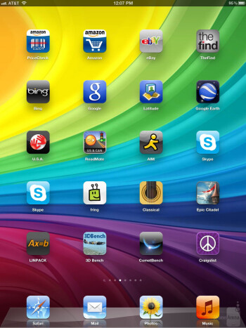 The same old interface - iOS 5.1 - The new iPad (3) Review