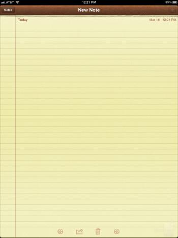 Notepad - The Apple iPad 3 - Google Nexus 7 vs Apple iPad 3