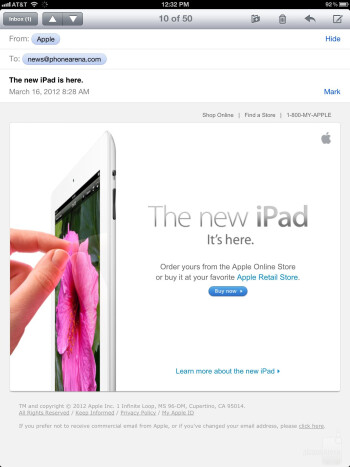 Email - The new iPad (3) Review