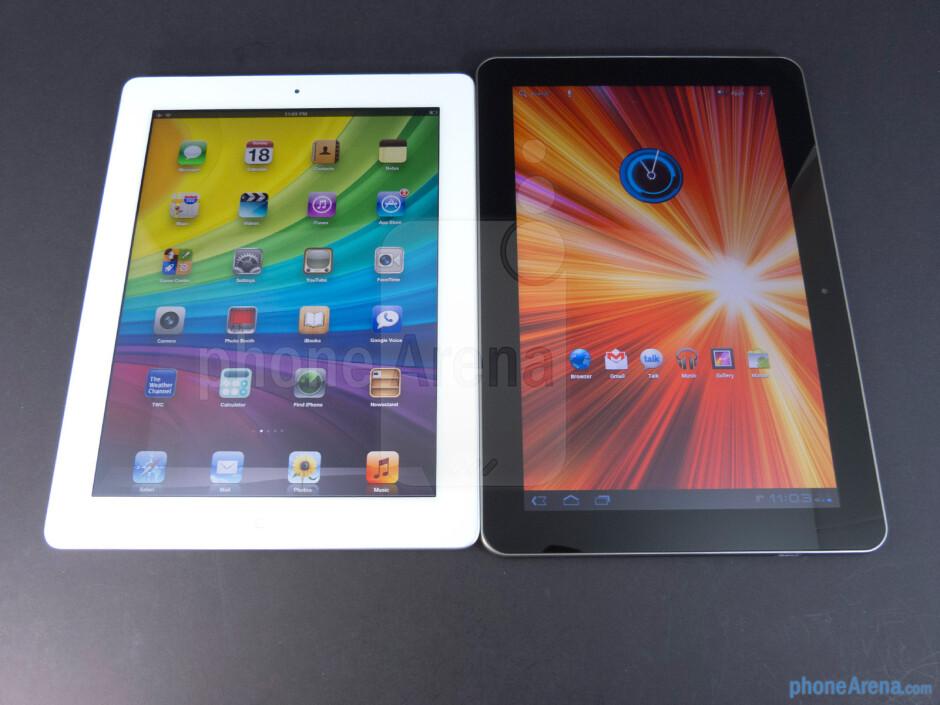 Apple iPad 3 vs Samsung Galaxy Tab 10.1