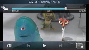 Multimedia playback - Motorola MOTOLUXE Review