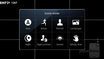 Camera interface - Motorola MOTOLUXE Review