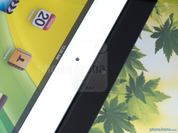 Front-facing cameras - The Apple iPad 3 (left) and the Motorola DROID XYBOARD 10.1 (right) - Apple iPad 3 vs Motorola DROID XYBOARD 10.1
