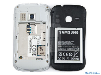 Battery compartment - Samsung Galaxy mini 2 Preview