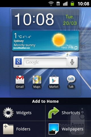 The Samsung Galaxy mini 2 runs Android 2.3.6 Gingerbread with the TouchWiz UI installed on top - Samsung Galaxy mini 2 Preview