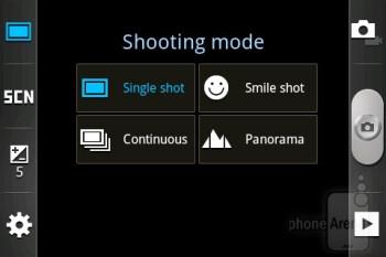 Camera interface - Samsung Galaxy mini 2 Preview