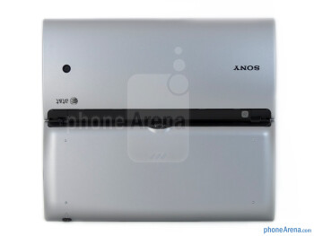 Back - open - Sony Tablet P Review