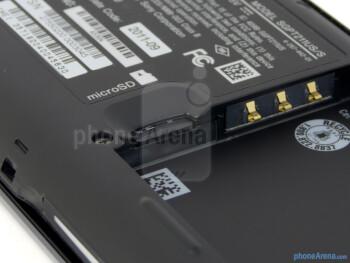 microSD card slot - Sony Tablet P Review