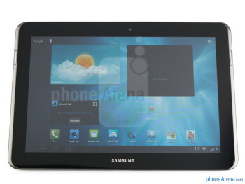 "The 10.1"" PLS-LCD screen - Samsung Galaxy Tab 2 (10.1) Preview"