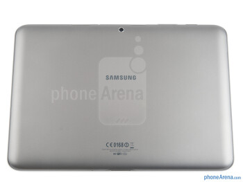 The Samsung Galaxy Tab 2 (10.1) sports an all-plastic construction - Samsung Galaxy Tab 2 (10.1) Preview