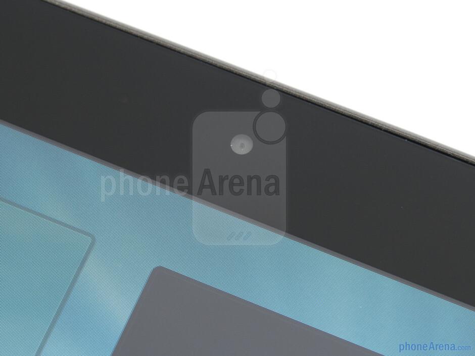 Front-facing camera - Samsung Galaxy Tab 2 (10.1) Preview