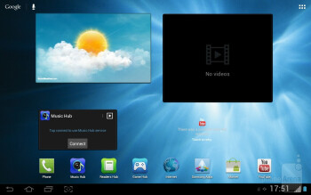The Samsung Galaxy Tab 2 (10.1) comes with TouchWiz over Android 4.0 - Samsung Galaxy Tab 2 (10.1) Preview