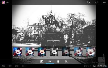Photo Studio - Samsung Galaxy Tab 2 (10.1) Preview