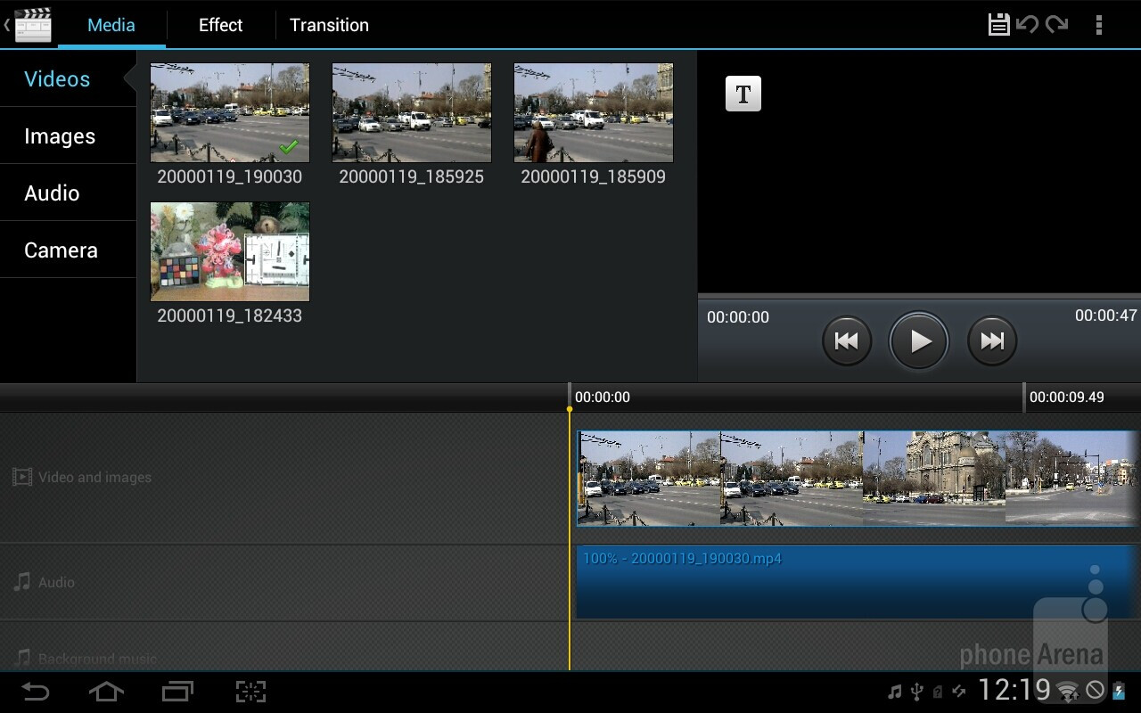 Samsung galaxy tab 2 10 1 preview interface for Galaxy maker