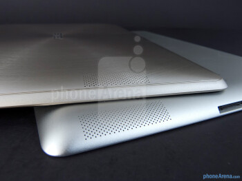 Speakers - Apple iPad 3 vs Asus Transformer Prime