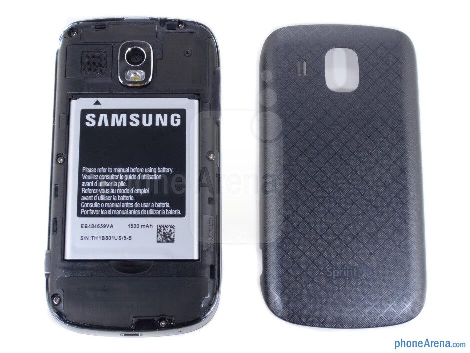 Battery compartment - Samsung Transform Ultra Review