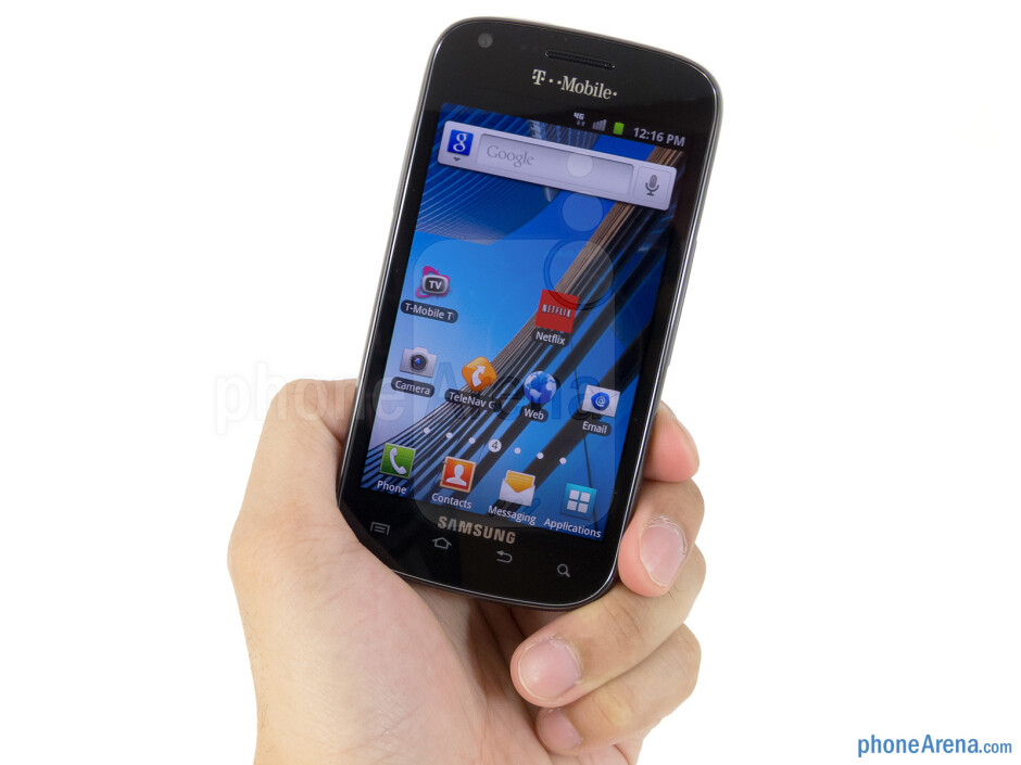The Samsung Galaxy S Blaze 4G exhibits the usual design characteristics akin to Samsung's stable - Samsung Galaxy S Blaze 4G Review