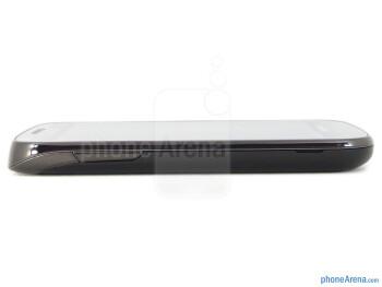 Volume keys on the left - Samsung Galaxy S Blaze 4G Review