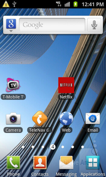 Samsung Galaxy S Blaze 4G flaunts the most up-to-date TouchWiz UI experience on top of Android 2.3.6 - Samsung Galaxy S Blaze 4G Review