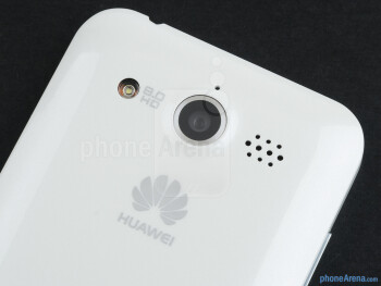 The 8-megapixel camera on the back - Huawei Honor Review