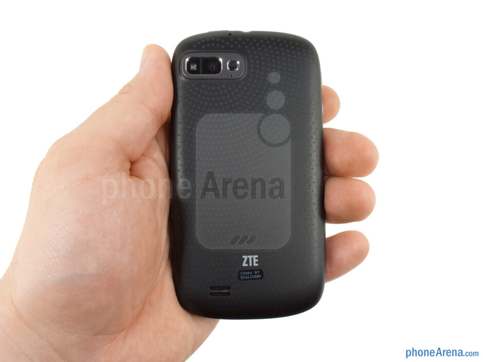 The ZTE Fury has a very reassuring feel in your hand - ZTE Fury Review