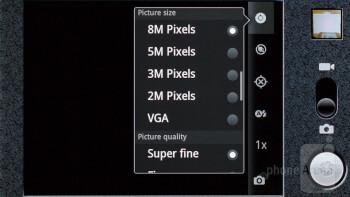 Camera interface - Huawei Honor Review