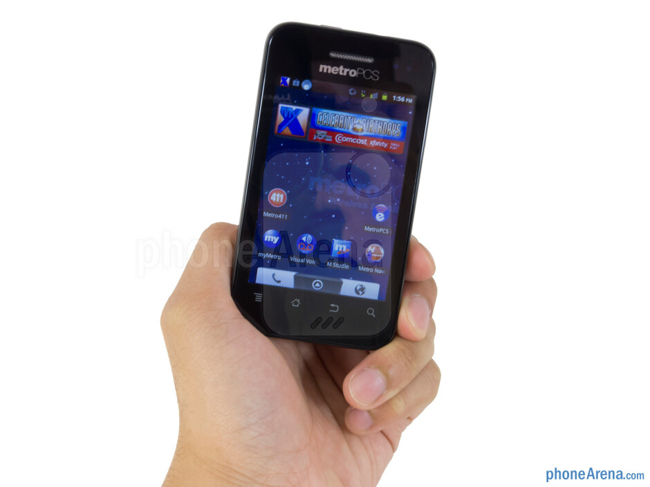 The ZTE Score M doesn't instill us with much confidence about its durability - ZTE Score M Review