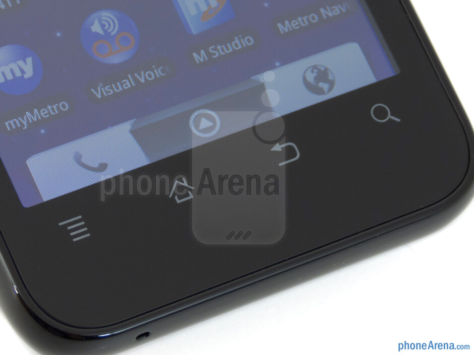 Android buttons - ZTE Score M Review